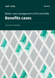 Better case management of FOI and SARs: Benefits cases