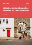 Validating gendered reporting behaviour on FixMyStreet.com