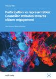 Participation vs representation: Councillor attitudes towards citizen engagement